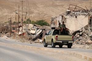 Die Stadt Sinjar ist heute weitgehend zerstört.